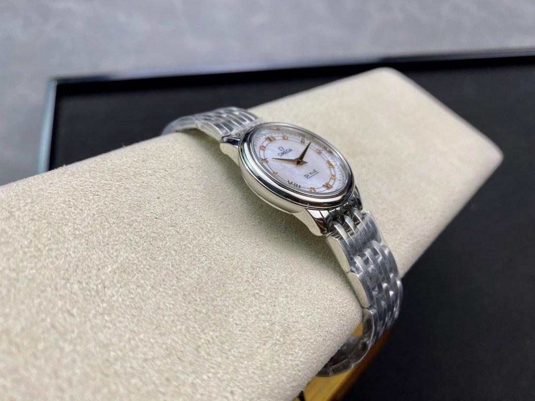 "ZF 真""芯""出品歐米茄女蝶飛石英系列腕表複刻手錶"