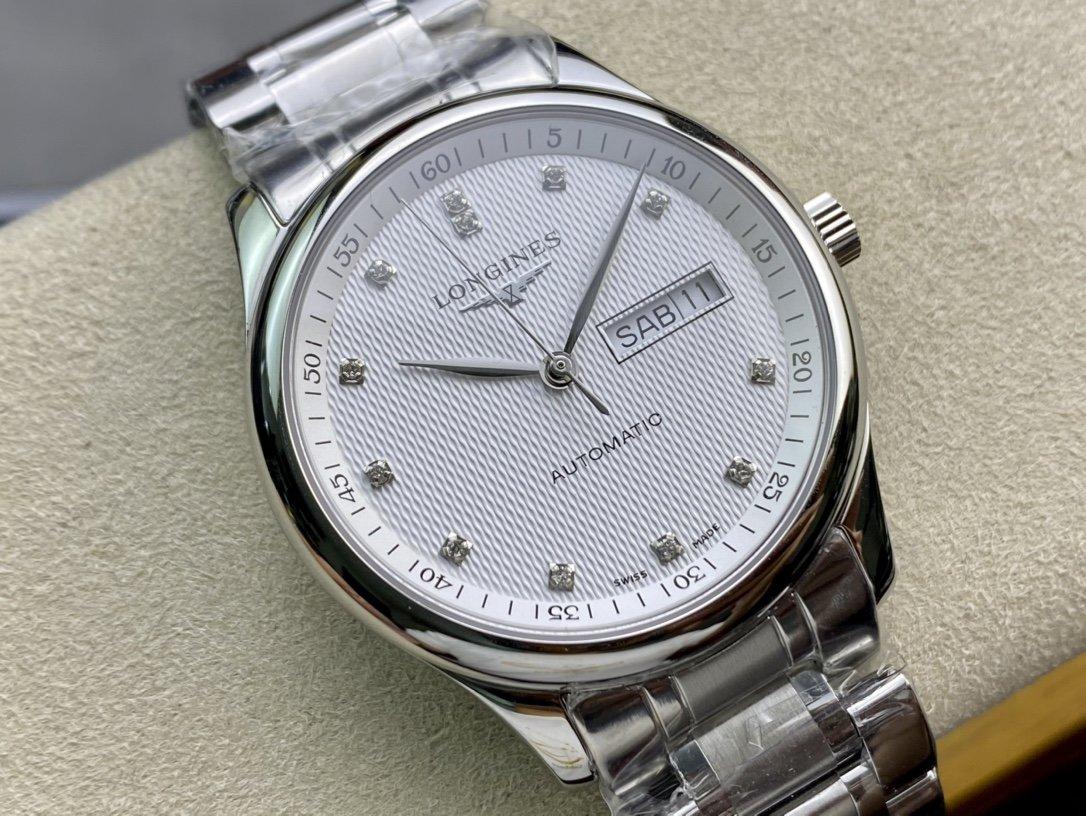 KY廠複刻浪琴名匠雙日曆系列高仿手錶