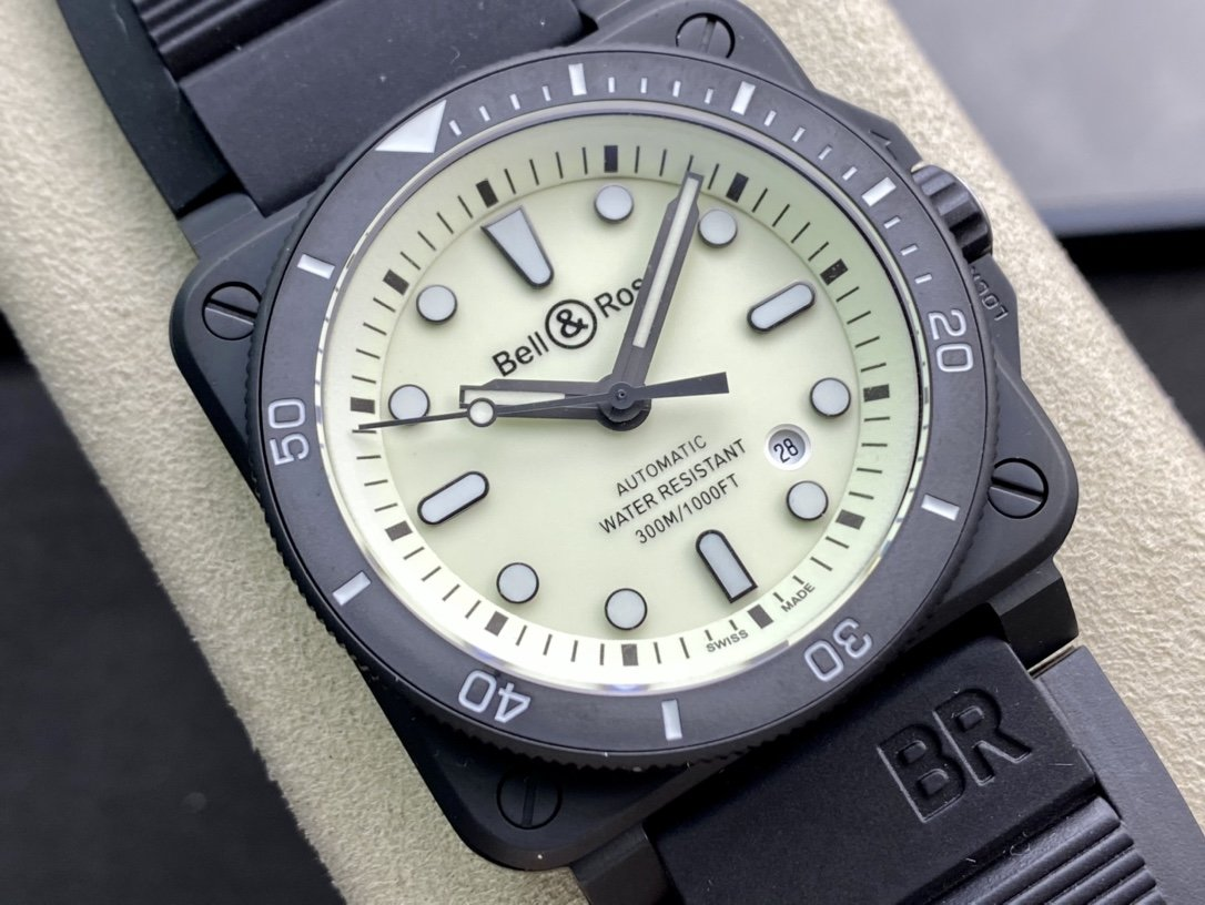 BR廠柏萊仕Bell&Roas首款方形潛水腕表複刻手錶