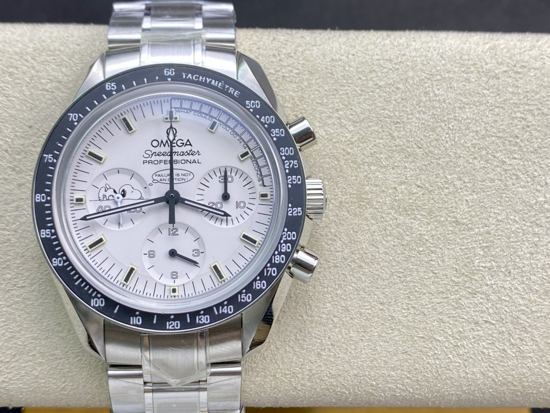 OM廠高仿omega歐米茄史努比登月超霸複刻手錶