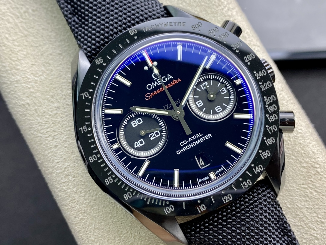 Omega歐米茄超霸系列月之暗面跑秒計時機械男表複刻手錶