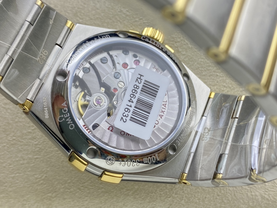 SSS廠3S廠OMEGA歐米茄雙鷹星座系列38mm男款精仿手錶