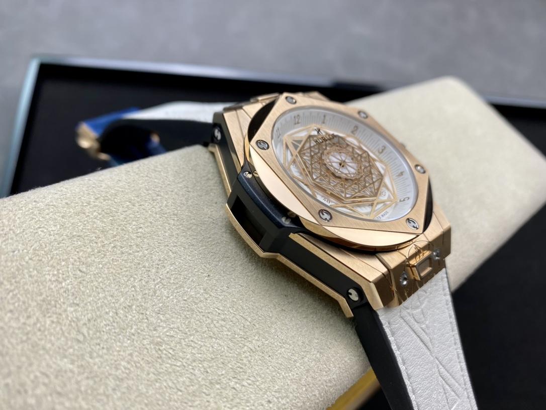 HB廠高仿恒寶宇舶表Big Bang Sang Bleu 刺青腕表高仿手錶