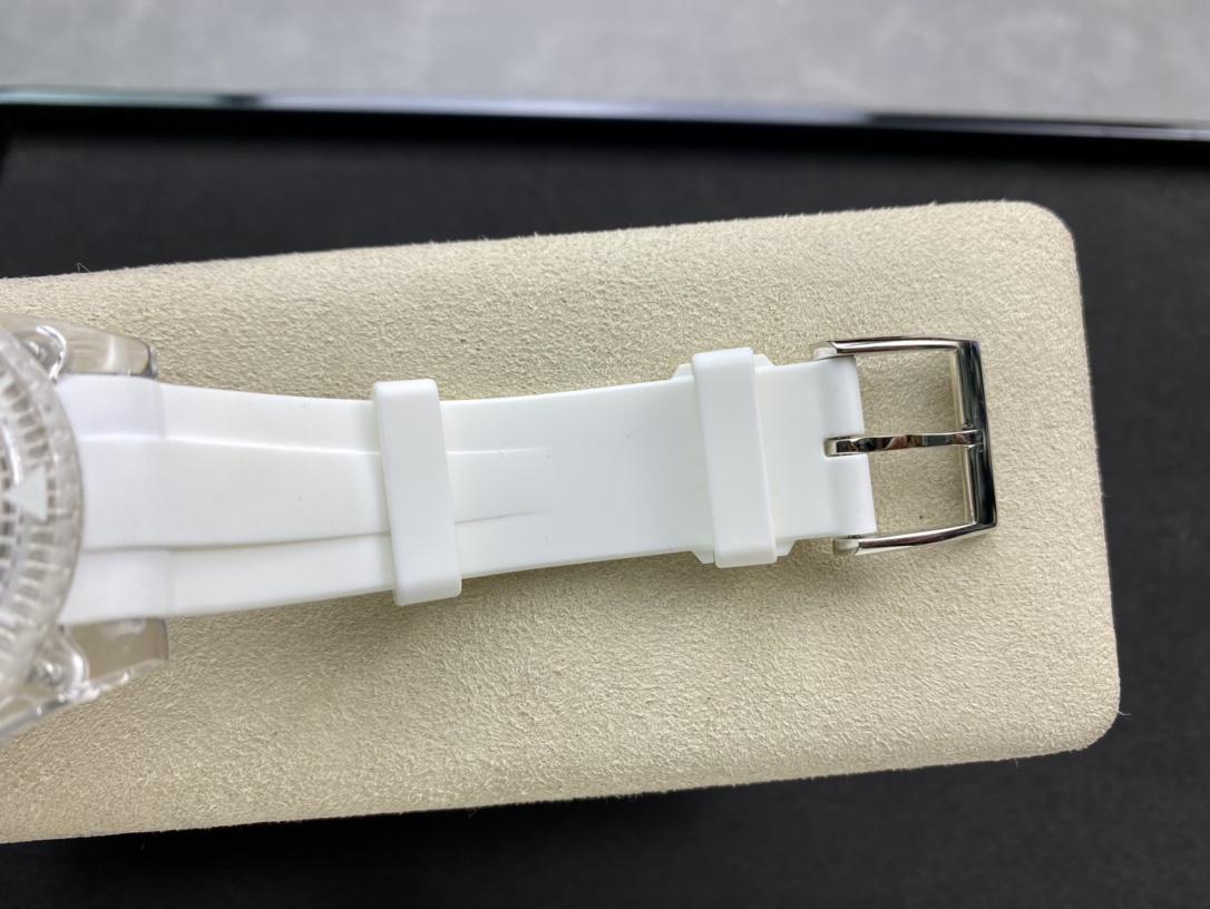 幻影实验室高仿劳力士聯名力作水晶系列透明水鬼2836机芯N厂手表