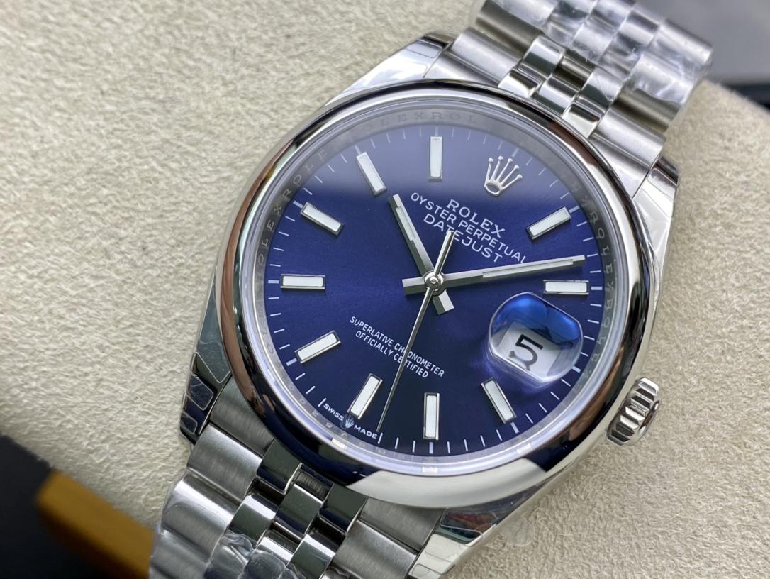 EW Factory高仿劳力士Rolex原版开模126233日志型3235机芯复刻手表