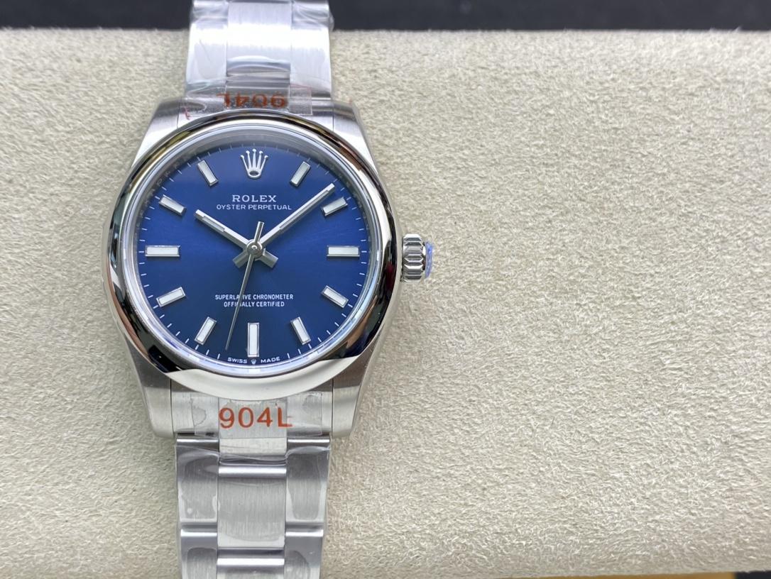 EW 2020新款高仿劳力士蚝式恒动型31系列高仿手表