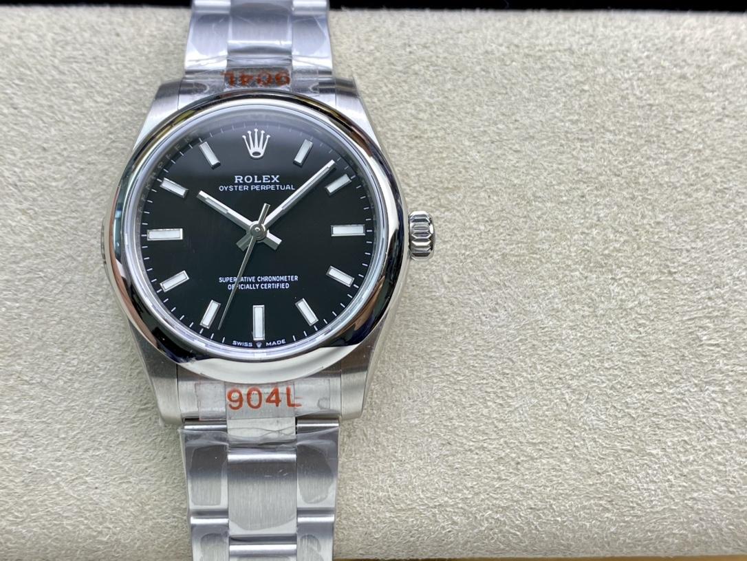 EW 2020新款高仿勞力士蠔式恒動型31系列高仿手錶