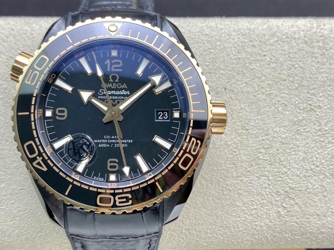 VS厂手表高仿欧米茄深海之黑酋长系列全黑陶瓷海洋宇宙600米8906机芯高仿手表
