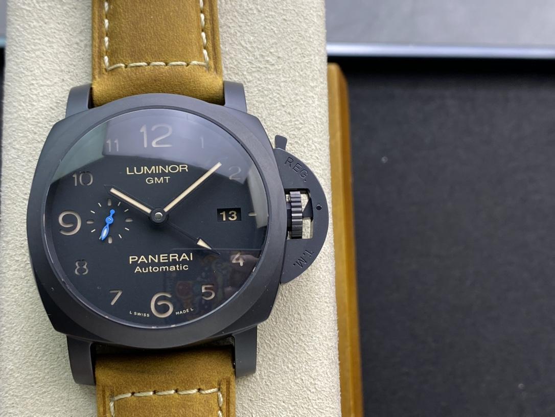 """VS厂手表高仿沛纳海PAM1441新品New""""蓝色小秒""""经典44MM精仿手表"""