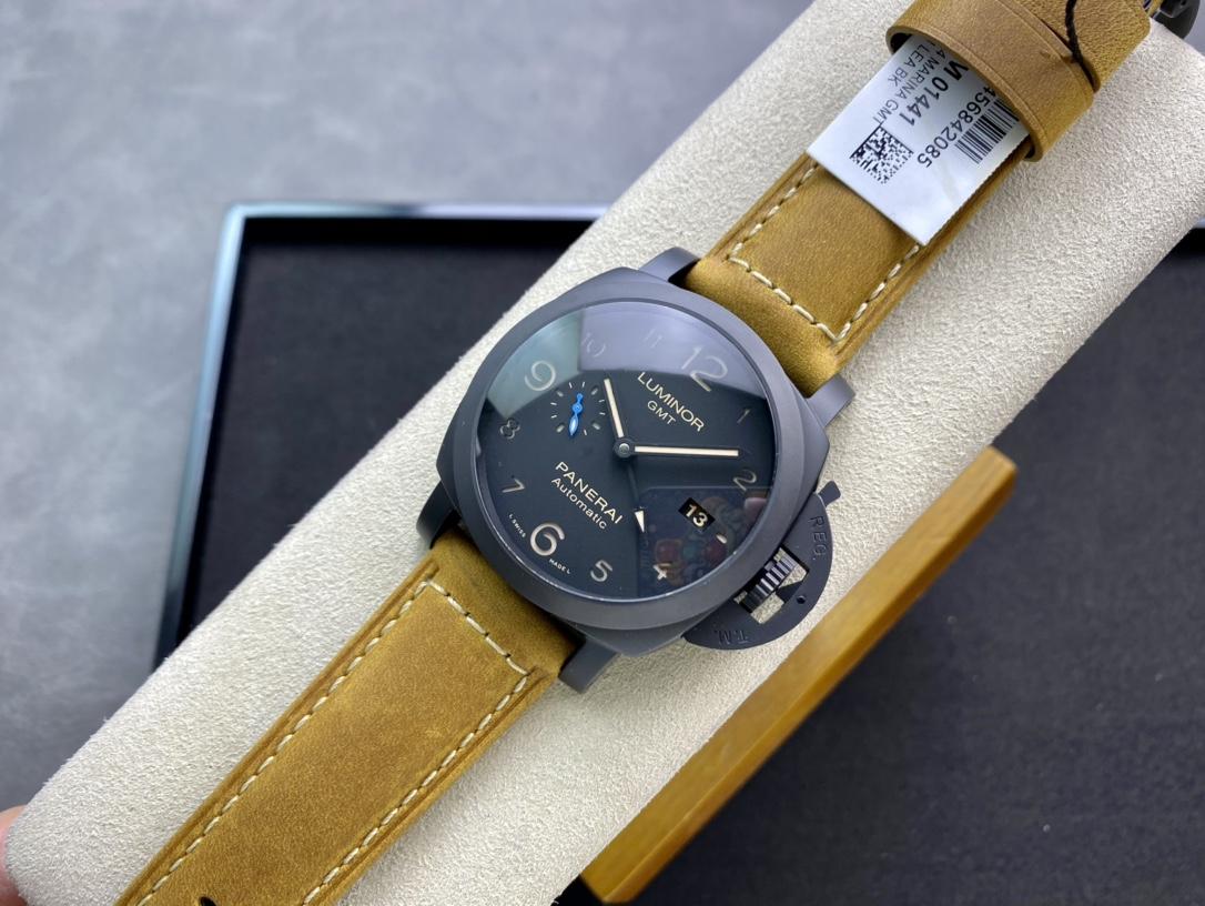 """VS廠手錶高仿沛納海PAM1441新品New""""藍色小秒""""經典44MM精仿手錶"""