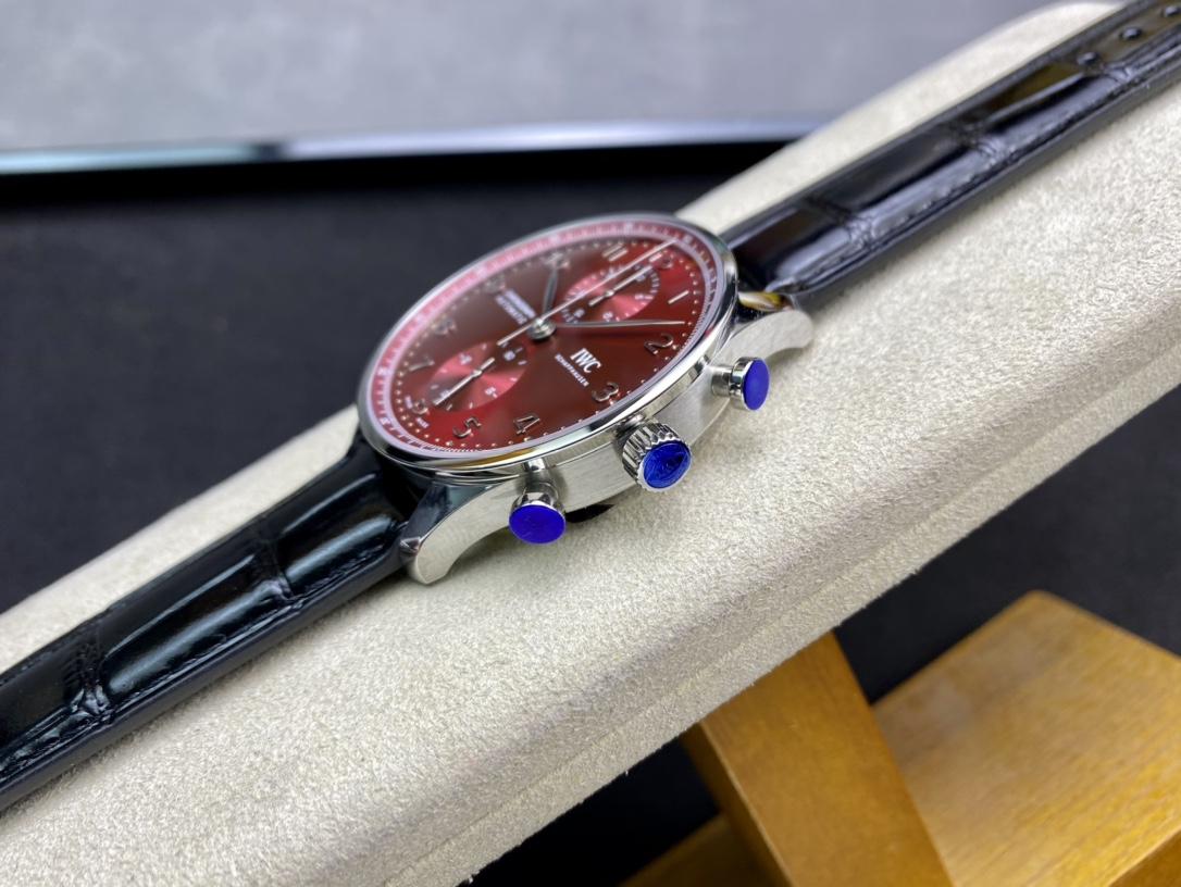AZ廠手錶高仿萬國表葡萄牙系列新一代背透款葡計複刻手錶
