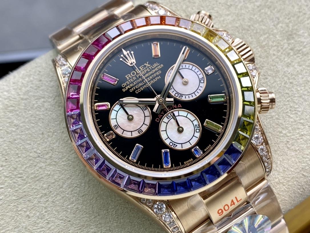 BL厂手表高仿劳力士迪通拿彩虹迪款型号:116599RBOW-116598RBOW-116595RBOW复刻手表