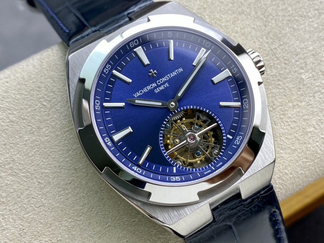 客訂快拆式鱷魚皮錶帶EUR冠王之王高仿江詩丹頓縱橫四海全自動陀飛輪高仿手錶