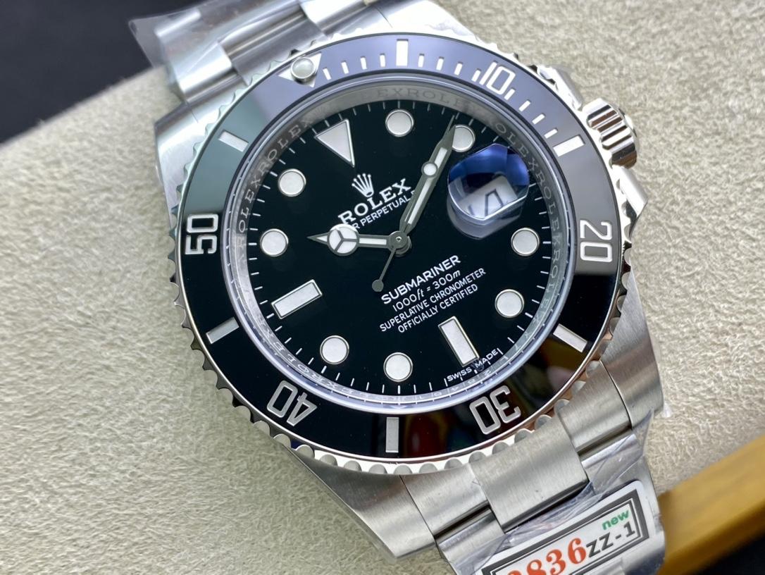 ZZ廠手錶高仿勞力士黑水鬼綠水鬼複刻手錶仿表