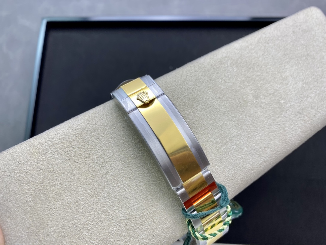 VS廠手錶高仿勞力士間金黑水鬼3135機芯904精鋼仿表
