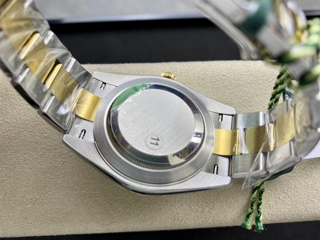 VS廠手錶高仿勞力士間金日誌3235機芯41mm複刻手錶