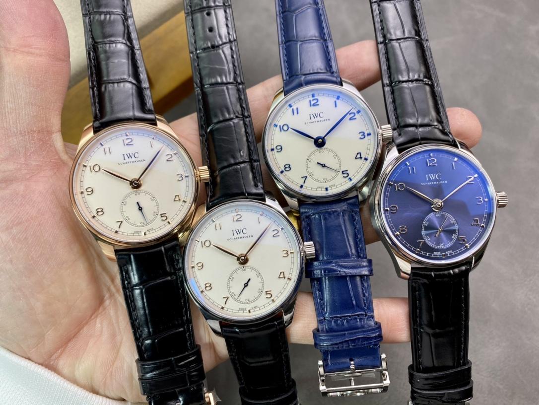 YL廠手錶高仿萬國IWC最新款葡萄牙系列自動小三針40mm四款型號:IW358303 IW358304 IW358305 IW358306搭配82200機芯複刻手錶仿表