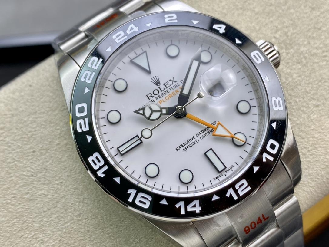 ROLEX高仿勞力士EXPLORERⅡ探險家2 GMT 216570-77210仿表
