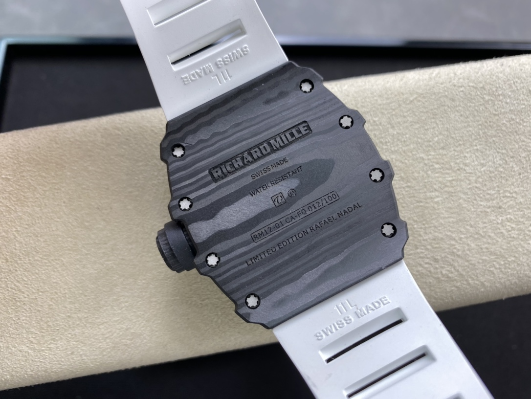 KV FACTORY高仿理查德米勒RM 12-01 Tourbillon Limited Editions限量陀飛輪仿表