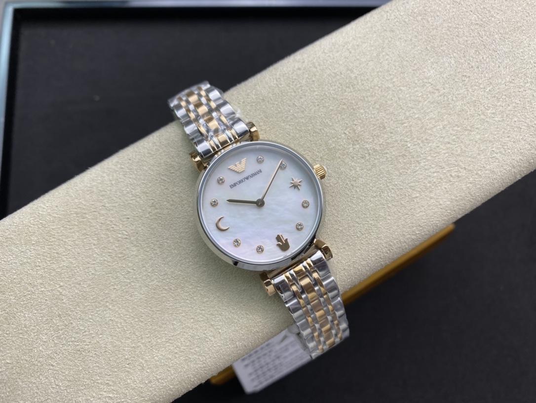 原廠阿瑪尼原單品牌:EMPORIO ARMANI/阿瑪尼型號:ar80037機芯種類:石英表手錶