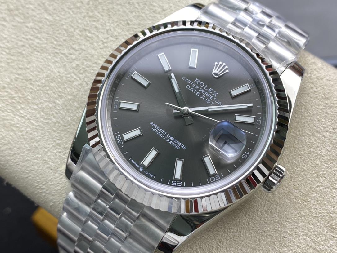 NOOB factory 高仿勞力士41日誌型3235機芯N廠手錶