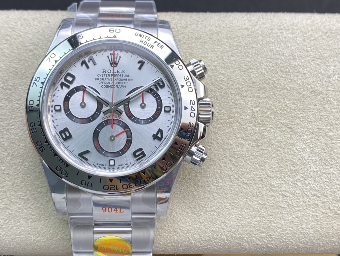 N Factory高仿勞力士迪通拿系列專屬Cal.4130自動上鏈機芯複彷N廠手錶