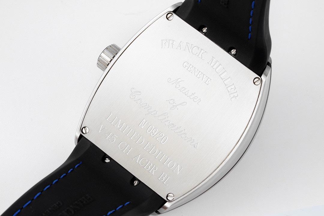 ABF Factory高仿法蘭克穆勒獨家定制版Vanguard腕表V45 CRAZY HOUR瘋狂時間系列複刻手錶