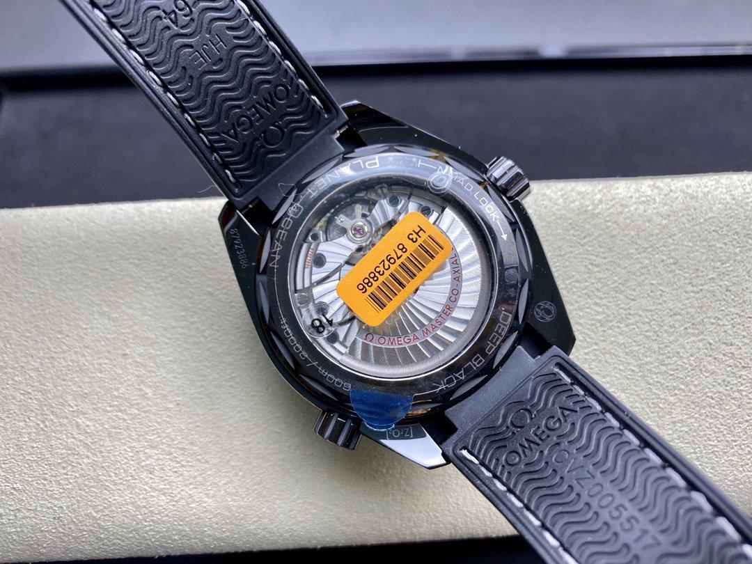 VS Factory watch omgeaw仿表歐米茄全黑陶瓷海洋宇宙600米深海之黑複刻手錶,N廠手錶