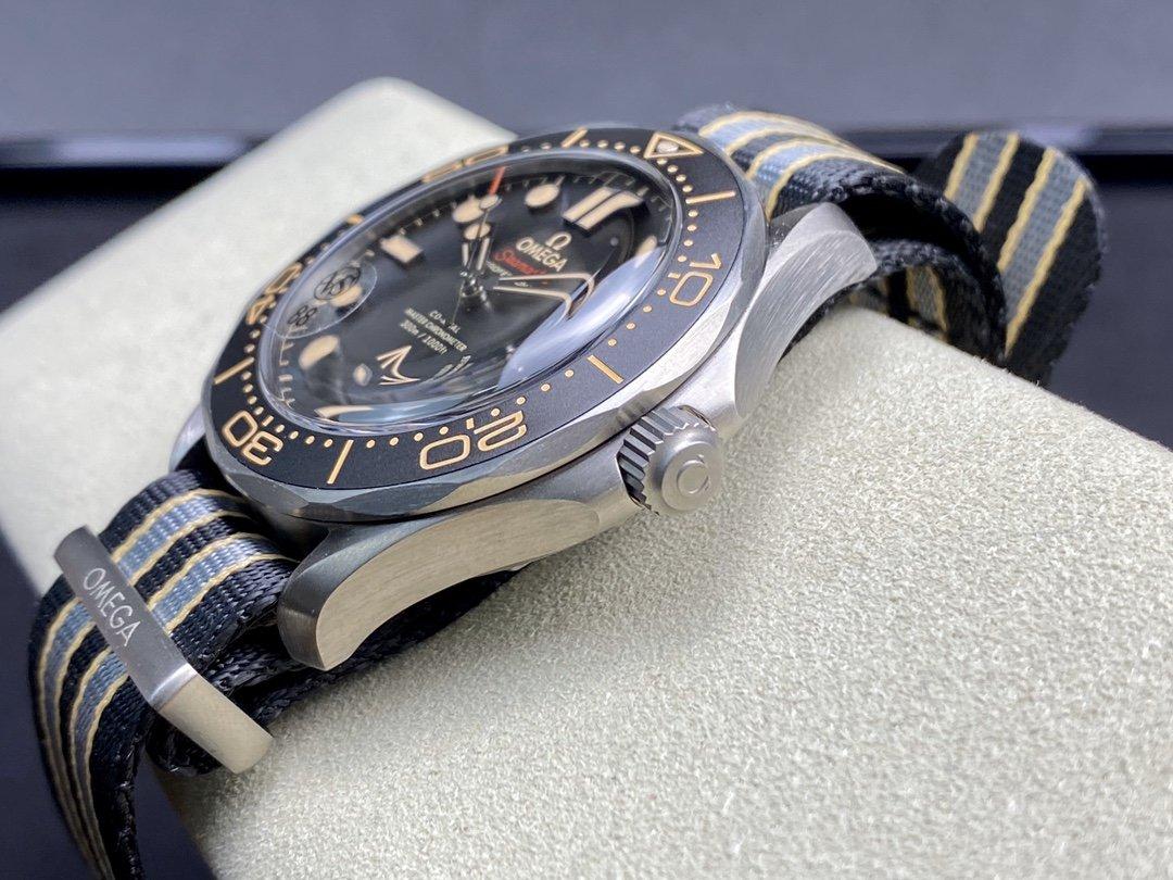 VS廠手錶仿表歐米茄OMEGA鈦殼邦德007-無暇赴死仿表,N廠手錶