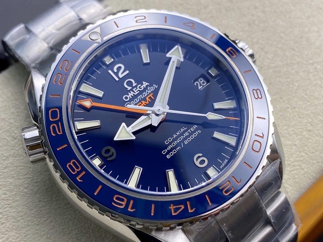 VS廠手錶仿表歐米茄OMEGAVS海馬gmt SEAMASTER海馬系列海洋宇宙600米高仿表,N廠手錶