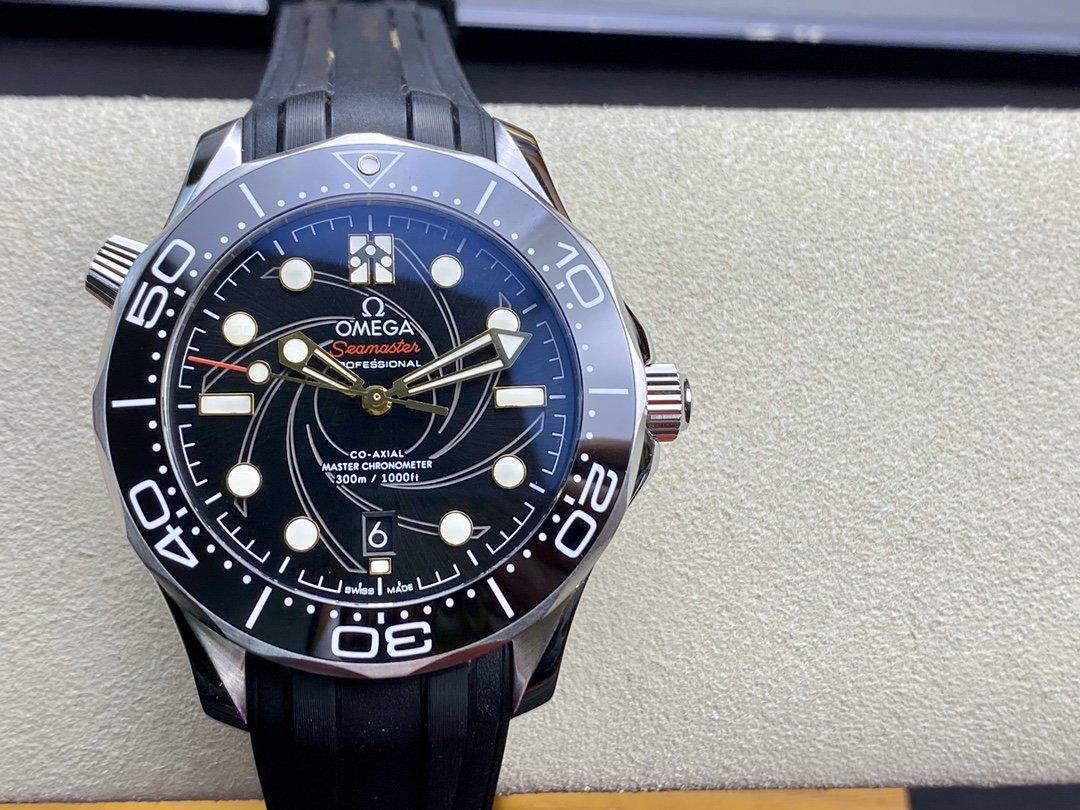 VS廠手錶仿表歐米茄海馬300米潛水表女王密使50周年款詹姆斯·邦德限量版,N廠手錶