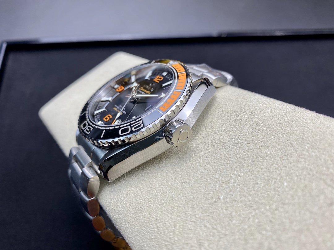 VS廠手錶仿表歐米茄OMEGA四分之一橙海洋宇宙600米高仿表,N廠手錶
