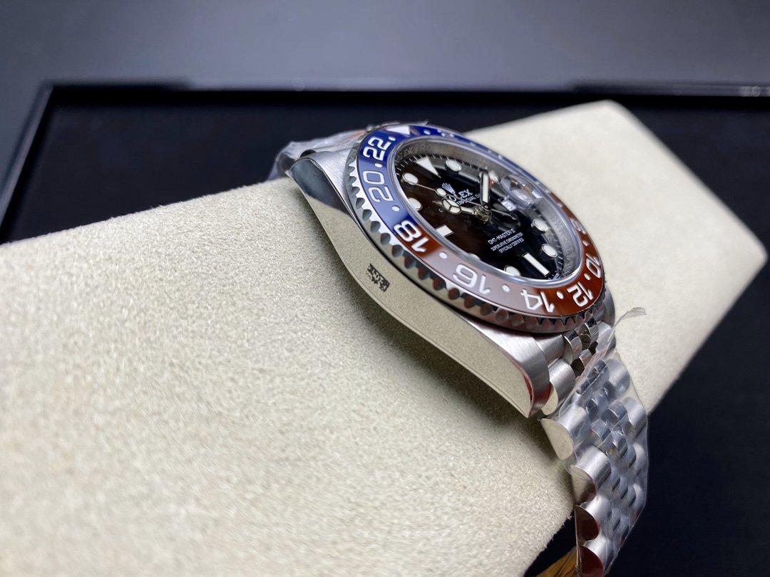 N廠手錶仿表勞力士ROLEX格林尼治可樂圈(可口可樂)紅藍陶瓷圈複刻手錶,N廠手錶