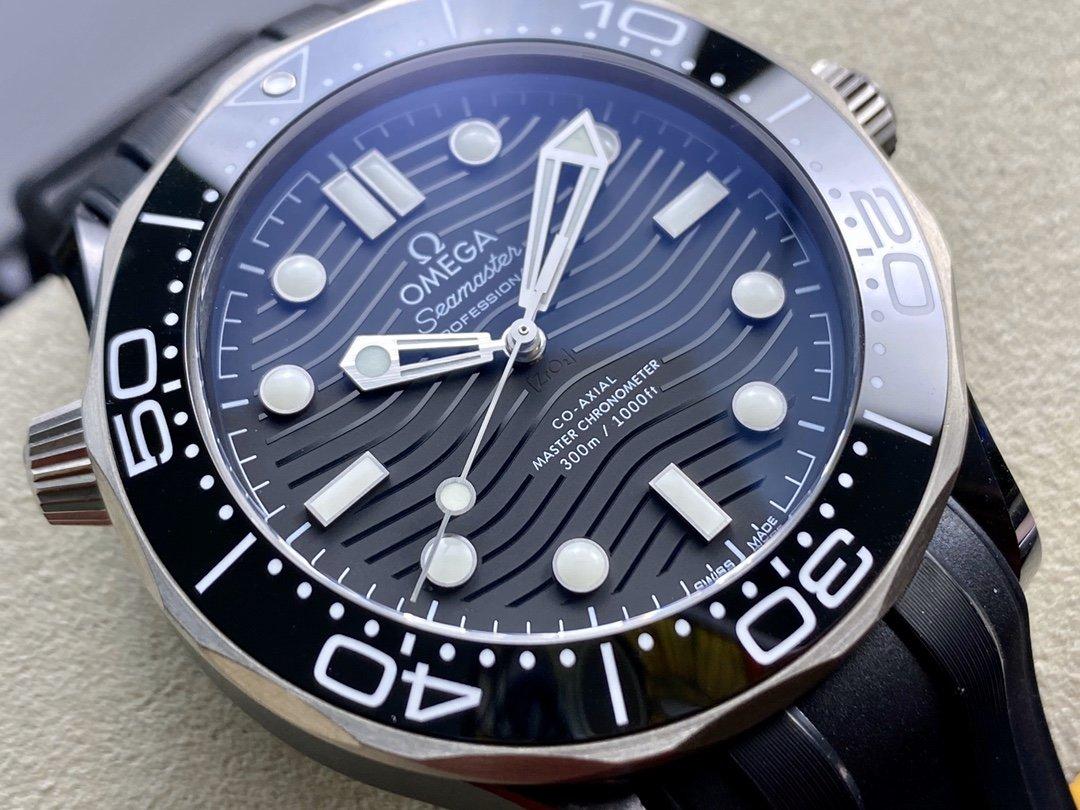 VS廠手錶仿表歐米茄新海馬300陶瓷鈦海馬複刻手錶,N廠手錶