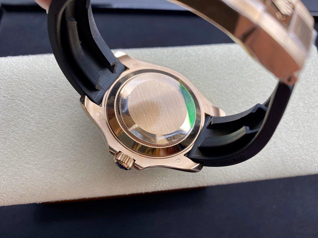 歐洲訂製版仿表勞力士糖豆遊艇116695SATS裝2836機和3135機芯,N廠手錶