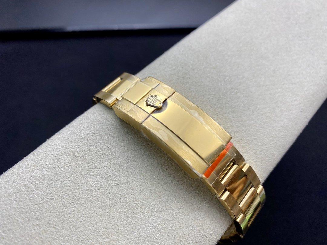 N廠手錶仿表勞力士ROLEX黃金迪黑盤迪通拿專屬Cal.4130自動上鏈機芯,N廠手錶