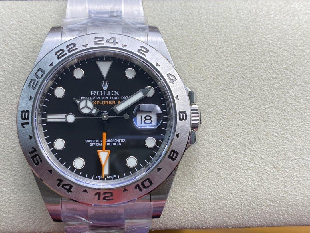 NOOB factory仿表勞力士探險家二代探二3187機械複刻手錶,N廠手錶