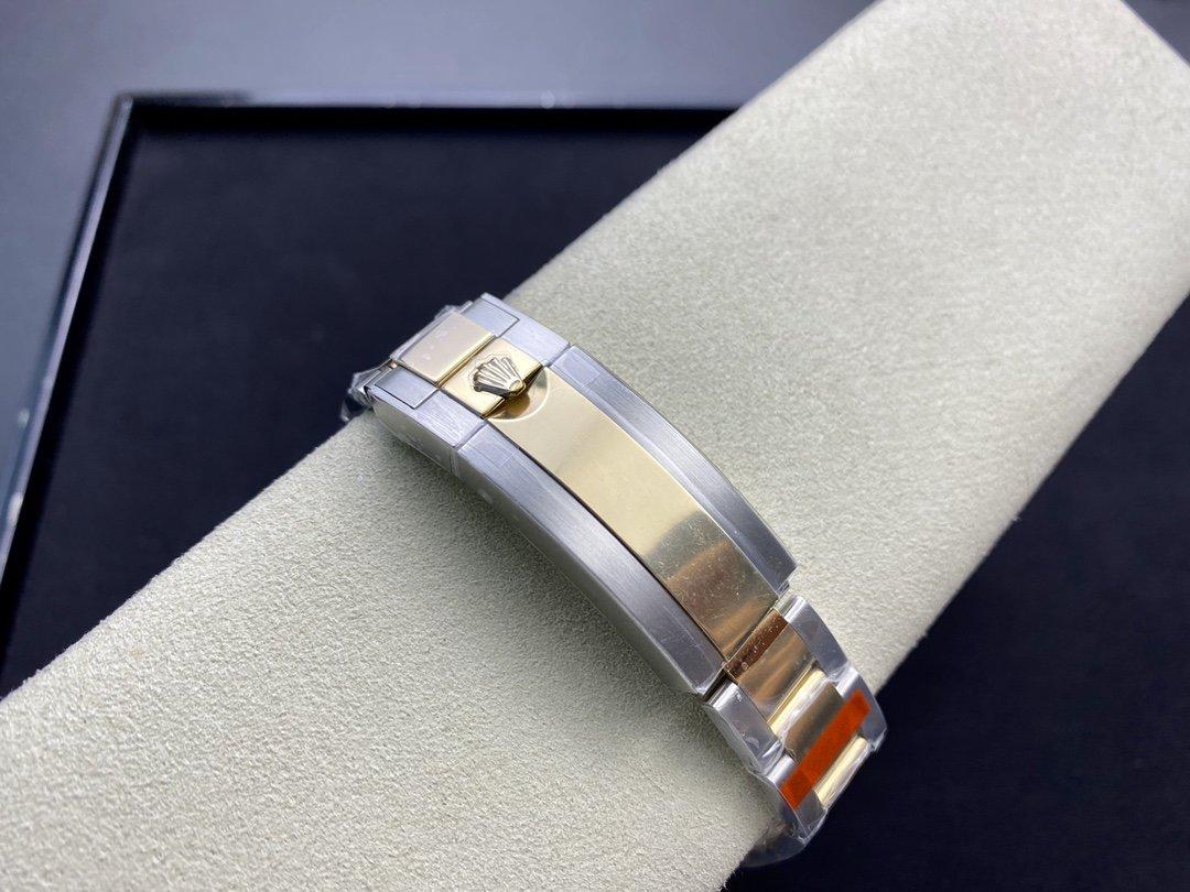 GM廠手錶仿表勞力士14k包金潛水SUB間金藍水鬼系列,N廠手錶