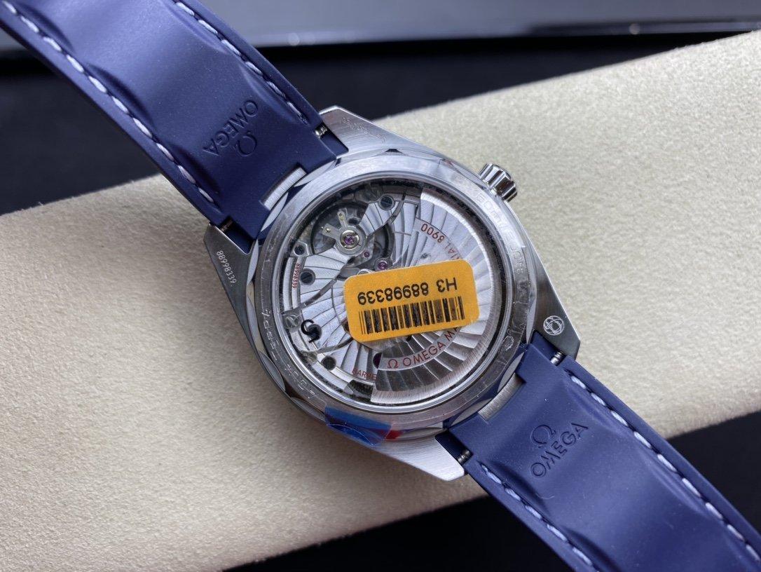VS廠手錶仿表歐米茄柚木海馬150米高仿表,N廠手錶