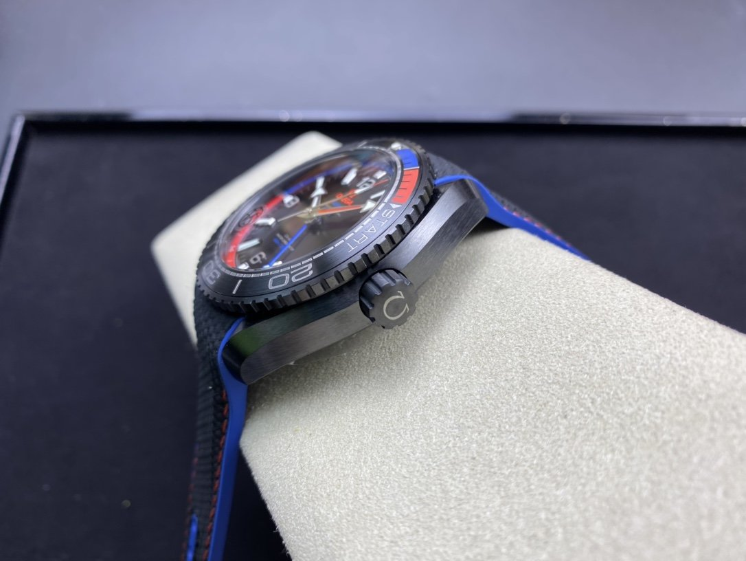 VS Factory omega watch 仿表欧米茄酋长系列全黑陶瓷海洋宇宙600米深海之黑高仿手表,N厂手表
