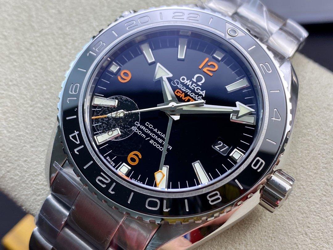 VS Factory omega watch仿表歐米茄海馬海洋宇宙600米GMT 43.5MM高仿表,N廠手錶