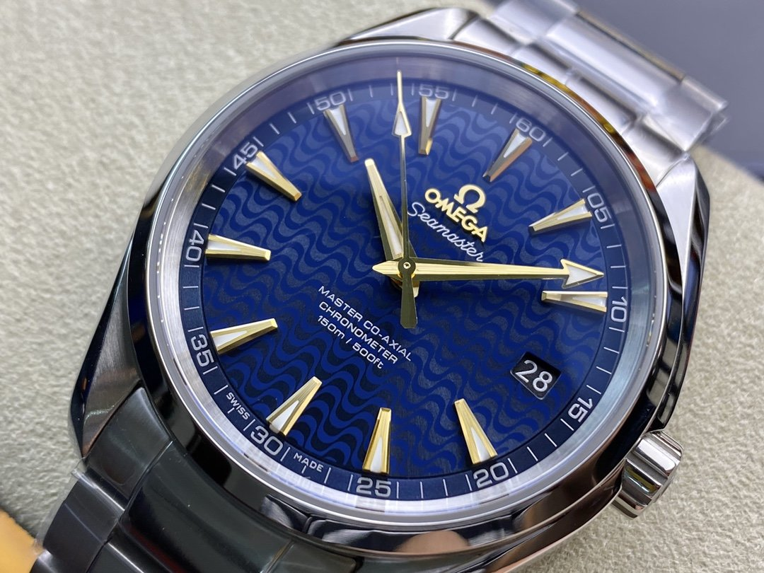 VS Factory omega watch 仿表歐米茄全新海馬150米金釘裏約奧運特別版,N廠手錶