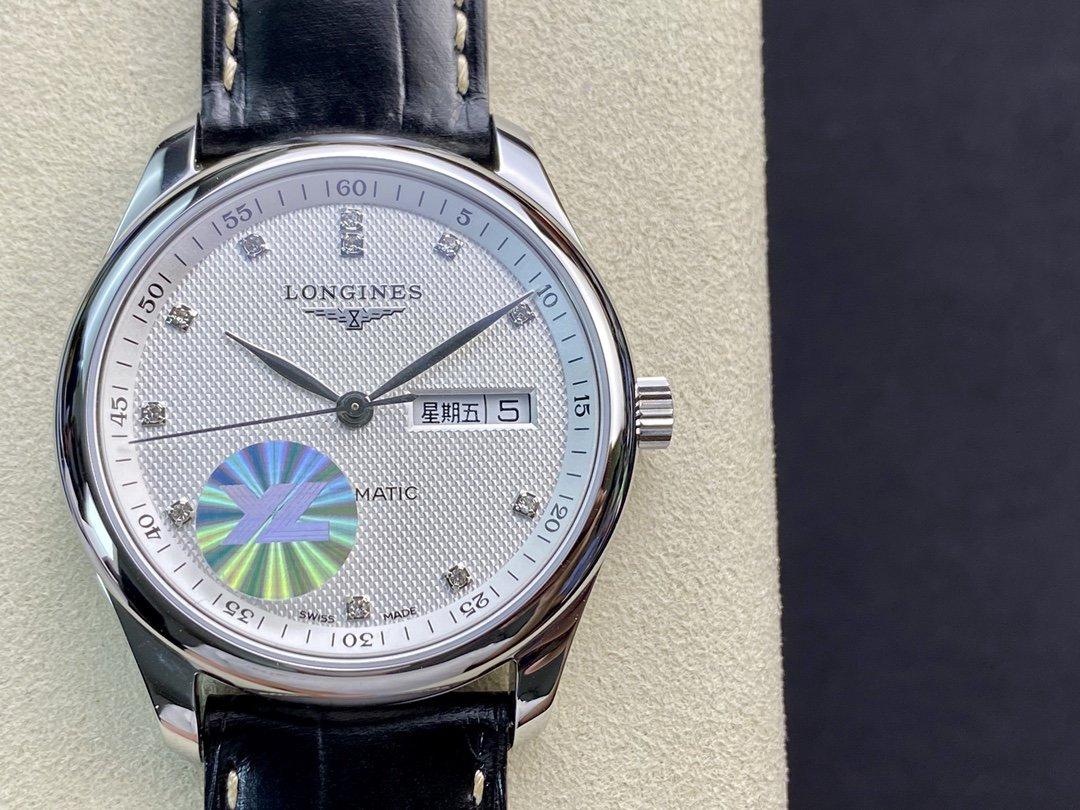 YL廠手錶仿表浪琴名匠3位雙日曆系列,N廠手錶