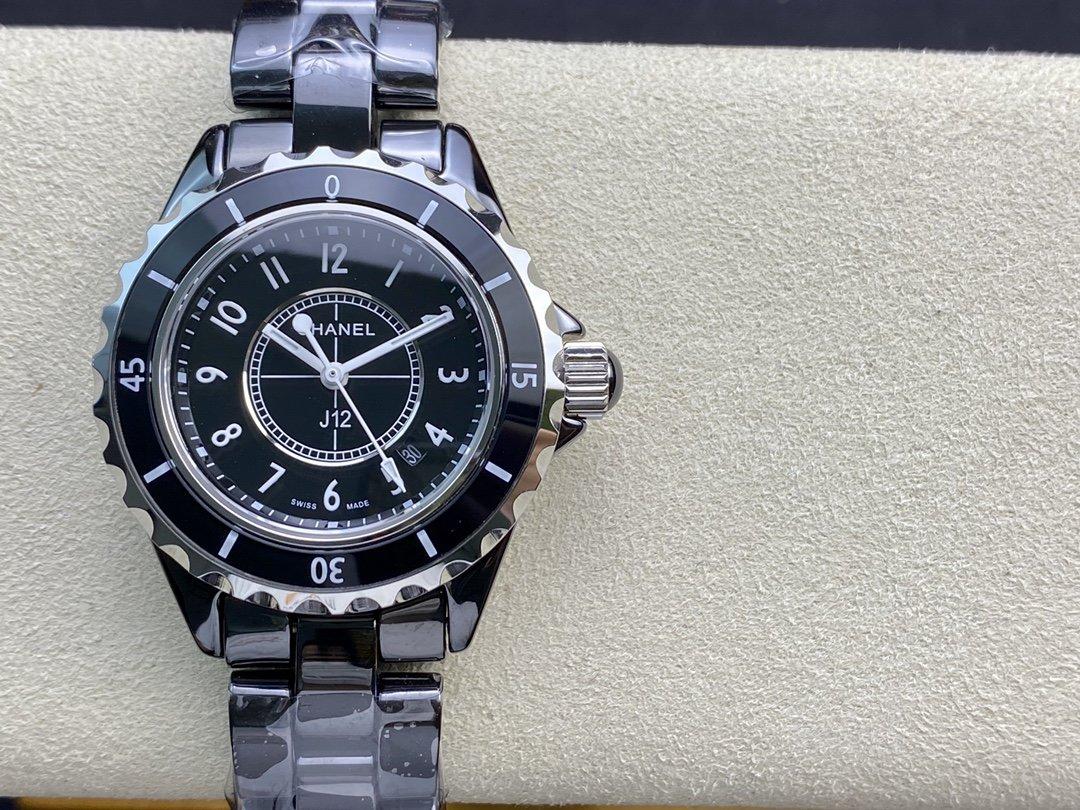 仿表香奈兒CHANEL J12 系列瑞士石英機芯,N廠手錶