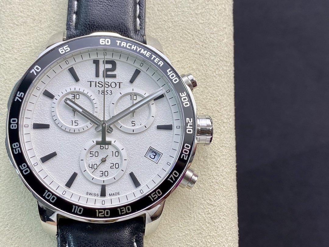 原單天梭T095六針計時碼表石英男表,N廠手錶