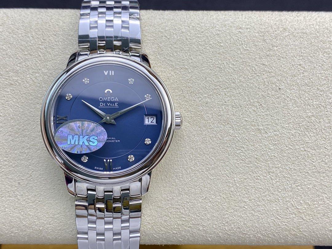 仿表歐米茄蝶飛經典女款系列MKS廠手錶,N廠手錶