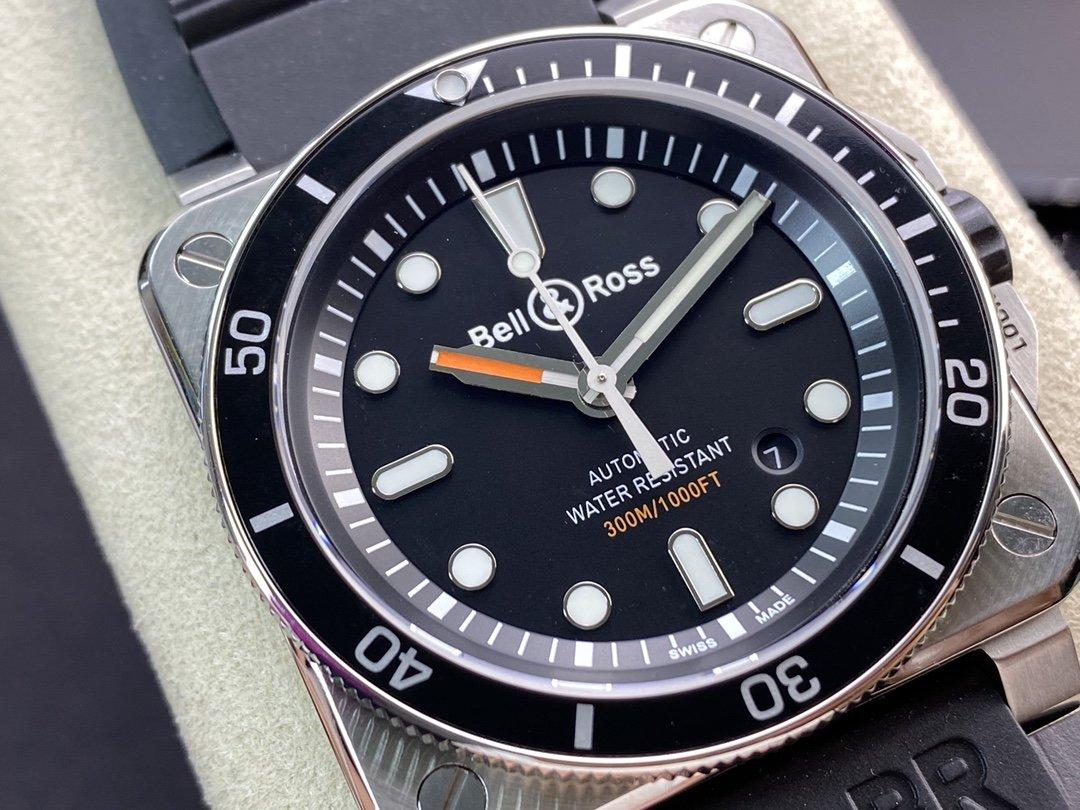 BR廠手錶柏萊仕Bell&Roas首款方形潛水腕表DiverBR03-92 Diver潛水腕表,N廠手錶