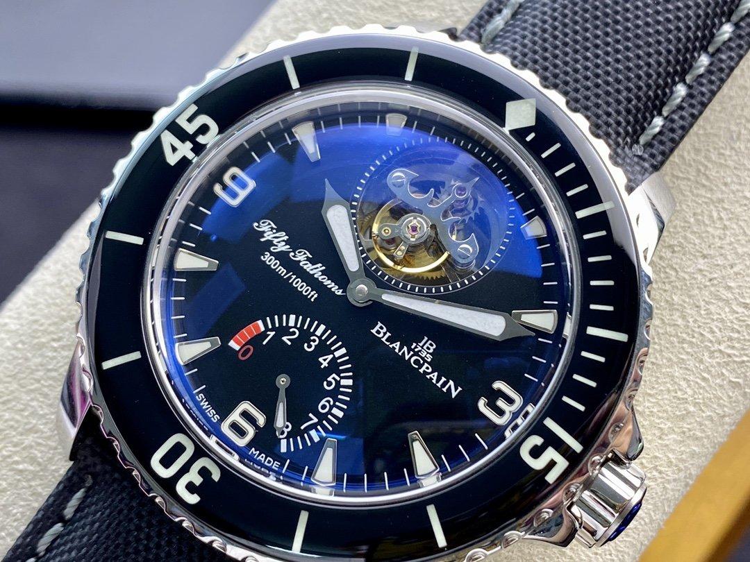 仿表寶珀陀飛輪動能顯示五十尋系列終極版JB廠手錶,N廠手錶