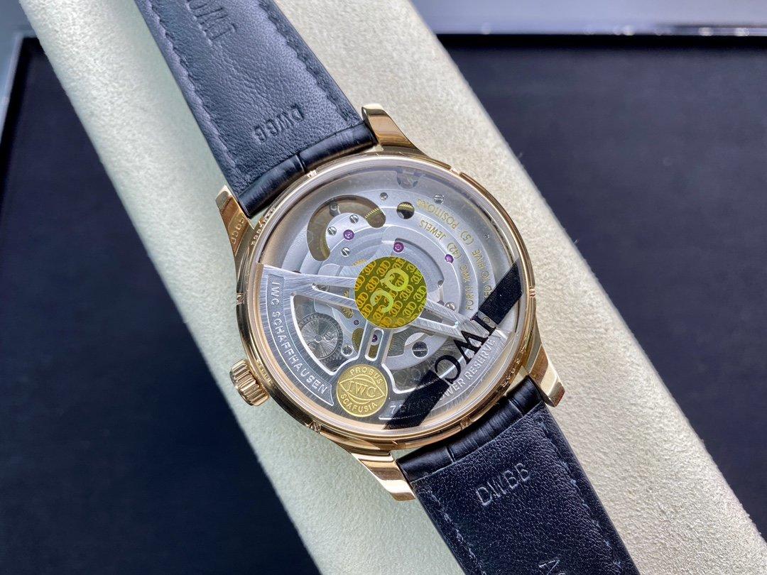 ZF廠手錶IWC萬國表葡萄牙系列逆跳陀飛輪腕表,N廠手錶