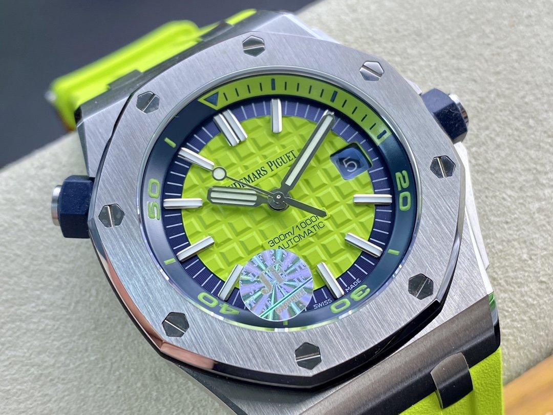仿表愛彼皇家橡樹15710彩色系列JF廠手錶,N廠手錶